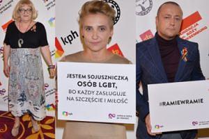 Grodzka, Scheuring-Wielgus i Czesław Śpiewa wspierają Kampanię Przeciw Homofobii (ZDJĘCIA)