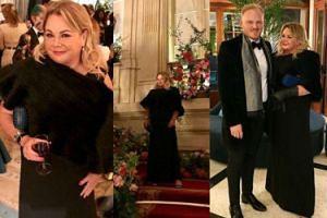 Niezgoda w wieczorowej sukni pozuje na balu charytatywnym! (FOTO)