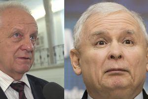 """PUDELEK W SEJMIE: Niesiołowski o Kaczyńskim: """"Formalnie to zwykły poseł... jak Liroy Marzec!"""""""