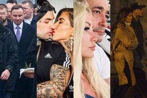 ZDJĘCIA TYGODNIA: Duda spaceruje ze święconką, Tusk z policjantami, a Quebonafide z Natalią Szroeder