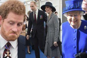 Brytyjska rodzina królewska odsłania pomnik weteranów wojennych (ZDJĘCIA)