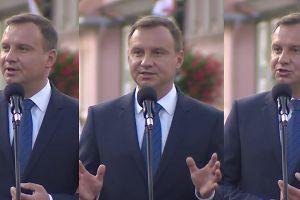"""Andrzej Duda: """"Dzieło dobrej zmiany i naprawy państwa jest realizowane"""""""