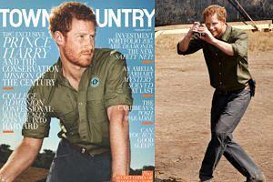 """Książę Harry: """"Afryka to jedyne miejsce, w którym czuję się naprawdę sobą"""""""