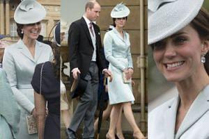 """Kate Middleton trzeci raz w tym samym płaszczu na """"garden party"""" (ZDJĘCIA)"""