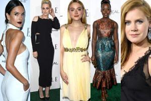 "Kristen Stewart, Lupita Nyong'o i Amy Adams na imprezie ""Elle"" w Hollywood (ZDJĘCIA)"
