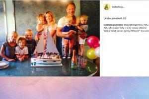Izabella Łukomska-Pyżalska pokazuje rodzinne urodziny