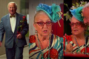 """Flirt pary emerytów w """"Pierwszej Randce"""": """"Słoneczko, wybrali ciebie dla mnie? Taką piękną kobietę?"""""""