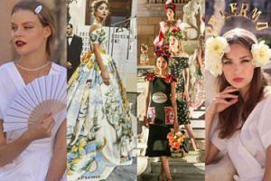 Tak wyglądał pokaz Dolce&Gabbana na Sycylii! (ZDJĘCIA)