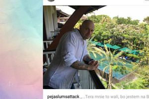 Peja się chwali wycieczką na Bali