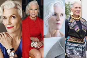 68-letnia modelka sensacją paryskiego tygodnia mody! (ZDJĘCIA)