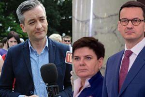"""Robert Biedroń o zmianie premiera: """"Nic się nie zmieni. NIE MA NADZIEI dla tego kraju!"""""""