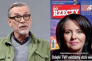 """Żakowski kpi z Holeckiej: """"Poniosło ją w wywiadzie. Twarz propagandy"""""""