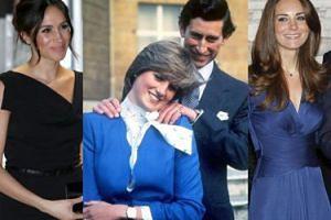 Książę Harry oddał pierścionek zaręczynowy po mamie księżnej Kate! Miała go nosić Meghan Markle...