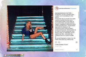Joanna Przetakiewicz motywuje opalonymi nogami
