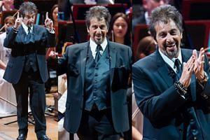 Al Pacino został... dyrygentem! (ZDJĘCIA)