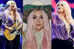 Kesha z różowymi włosami wraca na scenę. Jest lepiej? (ZDJĘCIA)