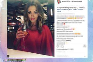 """Joanna Opozda życzy """"miłego weekendu"""""""