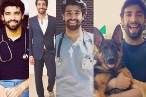 CIACHO TYGODNIA: Pakistański lekarz, model i... wielbiciel psów! (ZDJĘCIA)