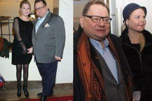 Ryszard Kalisz zabrał żonę na randkę do teatru (FOTO)