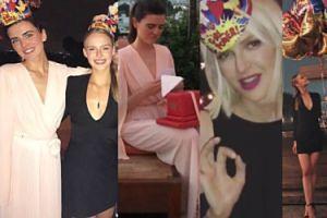 """""""Luksusowe"""" urodziny byłej menedżerki Krupy: Mielcarz i Pisarek bawią się w Hollywood (ZDJĘCIA)"""