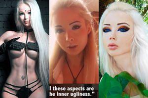 """""""Żywa Barbie"""" Valeria Lukyanova: """"Ludzie nie pobłogosławieni ślicznym wyglądem są brzydcy wewnętrznie"""" (ZDJĘCIA)"""
