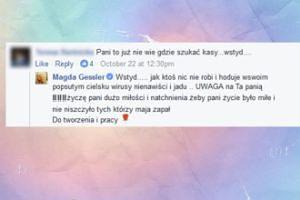 """Gessler ostro o fance: """"Hoduje W SWOIM POPSUTYM CIELSKU wirusy nienawiści i jadu!"""""""