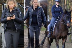 """Rozczochrana Powierza """"siedzi na koniu"""" (ZDJĘCIA)"""