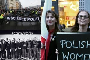 """Gwiazdy, artyści i politycy wspierają Czarny Protest: """"Nie składamy parasolek"""" (ZDJĘCIA)"""