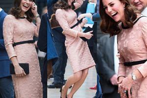 Ciężarna księżna Kate, książę Harry i Miś Paddington w Londynie (ZDJĘCIA)