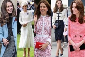 Zobaczcie NAJLEPSZE stylizacje Kate Middleton z 2016 roku! (DUŻO ZDJĘĆ)
