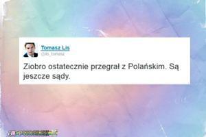 """Tomasz Lis cieszy się ze zwycięstwa Polańskiego: """"Są jeszcze sądy"""""""