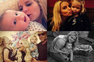 Szczęśliwa Jessica Simpson z dziećmi i mężem (ZDJĘCIA)