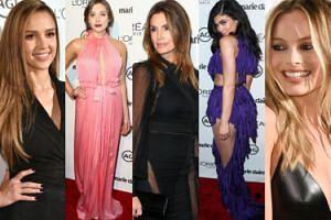"""Kylie Jenner, Cindy Crawford i Margot Robbie na imprezie """"Marie Claire"""" (ZDJĘCIA)"""