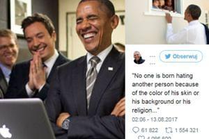 Antyrasistowski wpis Baracka Obamy zebrał 3 miliony polubień i POBIŁ REKORD Twittera!