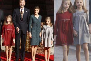 Nowe gwiazdy królewskiego dworu? Hiszpańskie księżniczki na otwarciu parlamentu (ZDJĘCIA)