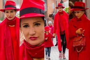 Justyna Steczkowska przebrała się za Czerwonego Kapturka (ZDJĘCIA)