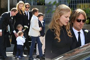 """Nicole Kidman na pogrzebie ojca: """"KOCHAM CIĘ, TATO!"""" (ZDJĘCIA)"""