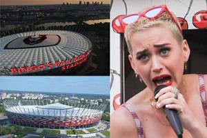 """Katy Perry UKRADŁA WIZERUNEK Stadionu Narodowego? """"Zastrzegliśmy jako znaki towarowe elewację, kubaturę, dach"""""""