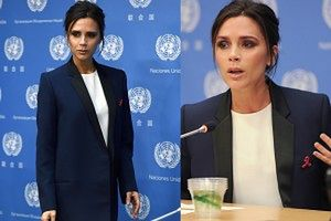 Victoria Beckham została ambasadorką ONZ!