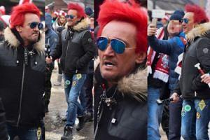 Patriotyczny Wiśniewski pojechał do Zakopanego. Podobają się Wam jego włosy? (ZDJĘCIA)