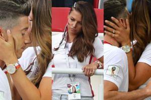 """Mundial 2018: Lewandowska """"całym sercem"""" pociesza Roberta po meczu (ZDJĘCIA)"""