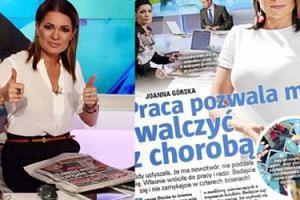 """Dziennikarka Polsatu o walce z nowotworem: """"Co tam włosy, rzęsy i brak mięśni! Rak jest mniejszy o połowę!"""""""