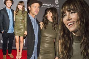 Timberlake i Biel uśmiechnięci na premierze (ZDJĘCIA)