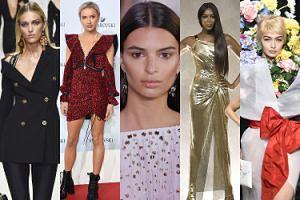 """Tak wyglądał tydzień mody w Mediolanie: powrót """"ikon"""" lat 90., Hadid w kwiatach, Maffashion na ściance... (ZDJĘCIA)"""