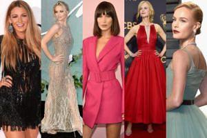 NAJLEPIEJ UBRANE zagraniczne gwiazdy w 2017 roku: Lively, Kidman, Lawrence, Hadid... (ZDJĘCIA)