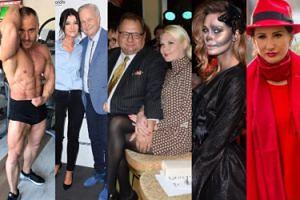 ZDJĘCIA TYGODNIA: Umięśniony ksiądz-trener, Tajner i Kalisz z młodymi partnerkami, celebrytki straszą na Halloween…