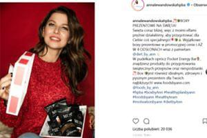 """Natchniona Lewandowska reklamuje swoje """"boxy prezentowe"""" (FOTO)"""