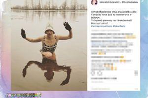 Sonia Bohosiewicz bawi się w morsowanie