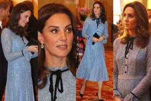 """Ciążowy brzuszek księżnej Kate debiutuje """"na salonach""""! (ZDJĘCIA)"""