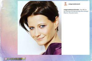 Małgorzata Kożuchowska myśli o zmianie koloru włosów